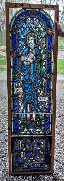 Saint-Agnes-Stained-Glass-Window