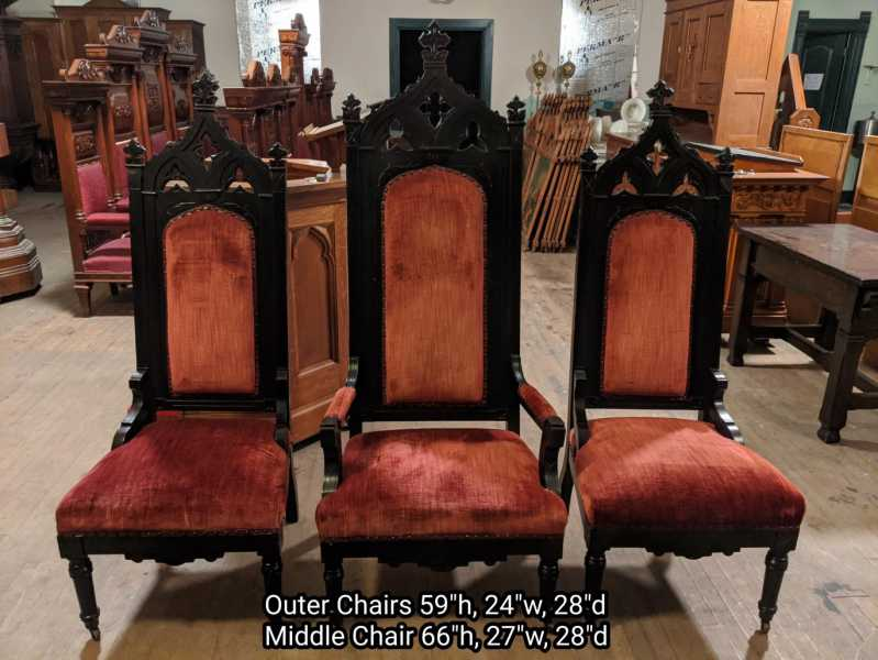 A-Gothic-Style-Chair-Set-of-3