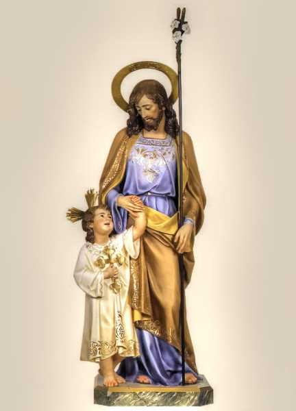 Saint-Joseph-and-Child-Statue