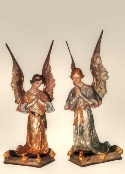 Kneeling-Angels-Church-Statues