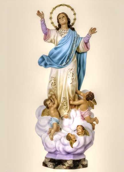 Assumption-of-the-Virgin-Mary-into-Heaven-Statue