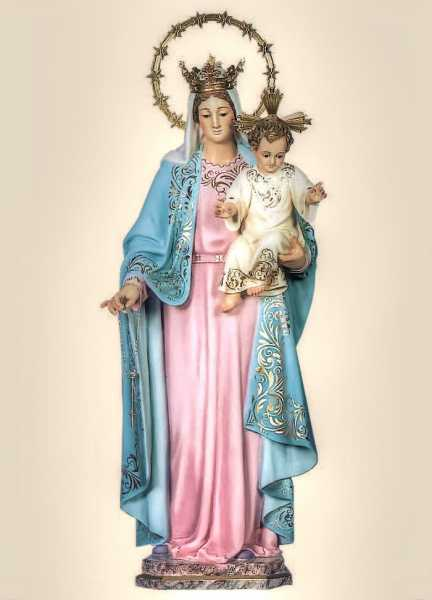 Our-Lady-of-the-Rosary-Blessed-Virgin-Mary-Statue