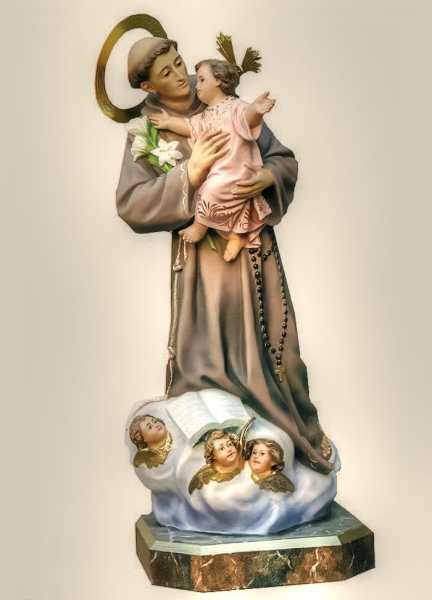 Saint-Anthony-of-Padua-Statue