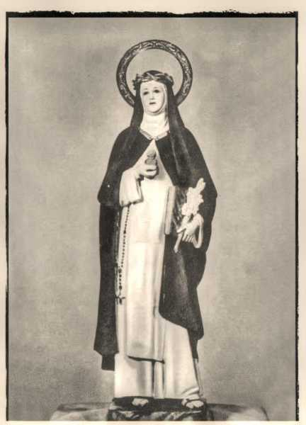 Saint-Catherine-of-Siena-Statue