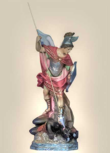Saint-Michael-the-Archangel-Statue