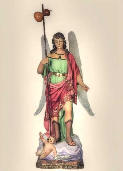 Saint-Raphael-the-Archangel-Statue