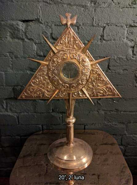 Used-Church-Antique-Monstrance--66