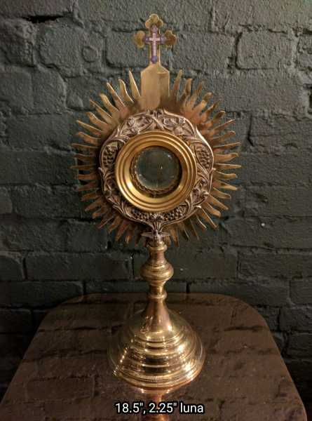 Used-Church-Antique-Monstrance--91