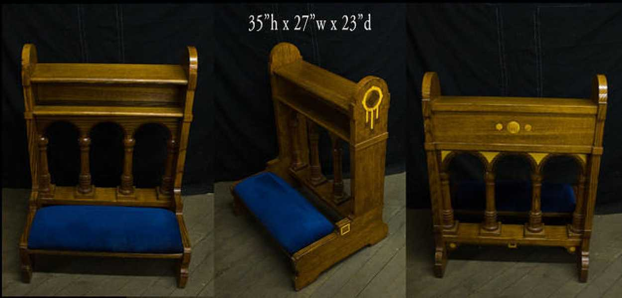 Used-Church-Kneeler-Prie-Dieu-3