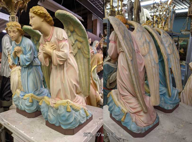 Adoration-Angels-Early-Church-Statues