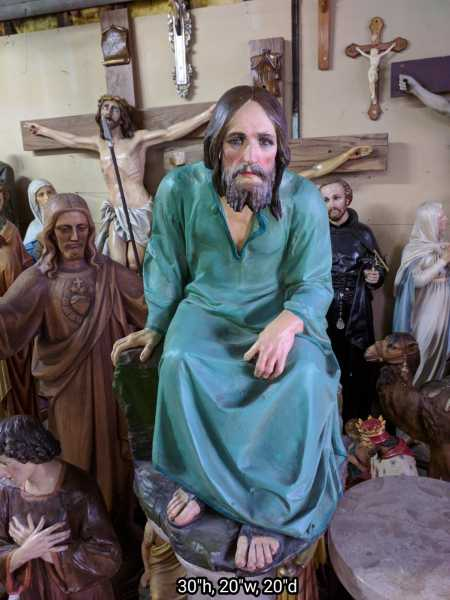 Jesus-Christ- Sermon-on-the-Mount-Statue