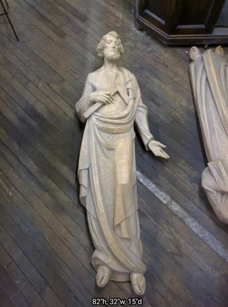 Huge-Carved-Wood-Joseph-Statue