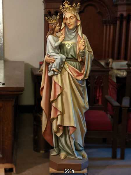 Anne-De-Beaupre-Daprato-Church-Saint-Statue