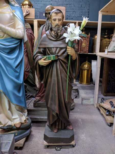 Church-Saint-Statue-Francis-Patrizi-of-Siena